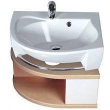 RAVAK ROSA SDU L skrinka pod umývadlo 560x400x240mm so zásuvkou, ľavá, breza / biela X000000238