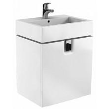 KOLO TWINS skrinka pod umývadlo 60x57cm závesná, lesklá biela