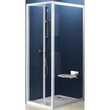 RAVAK SUPERNOVA PSS 75 pevná stena 720x755x1850mm jednodielna, biela / transparent 94030100Z1