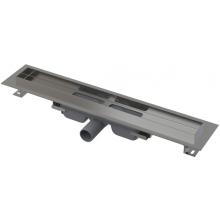 CONCEPT 100 LOW podlahový žľab 1050x60mm znížený, s okrajom pre plný rošt, nerez