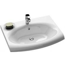 RAVAK EVOLUTION umývadlo nábytkové 700x550192mm z liateho mramoru, biela XJE01100000