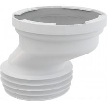 CONCEPT dopojenie k WC excentrické, biela