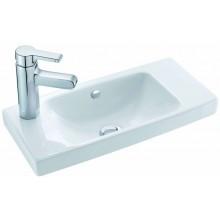 KOHLER REACH klasické umývadielko 500x220mm otvor pre batériu vľavo, white 18556W-L-00