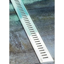 RAVAK ZEBRA 850 podlahový žľab 844x53x12mm s nerezovou mriežkou X01434