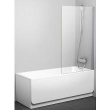 RAVAK PVS1 80 vaňová zástena 800x1400mm jednodielna, pevná biela / transparent 79840100Z1