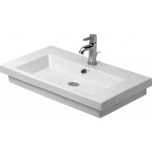 DURAVIT 2ND FLOOR umývadlo 700x460mm s prepadom, 3 otvory, biela 0491700030