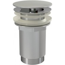 RAVAK umývadlová pileta CLICK-CLACK 62mm pevná, chróm
