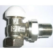 """HERZ TS-90 termostatický ventil 1/2"""" rohový, bez prednastavenia"""