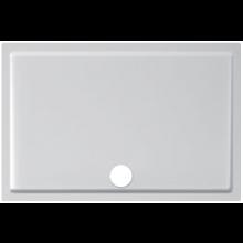 JIKA PADANA vanička sprchová z liateho mramoru 1200x800x30mm obdĺžniková, R550mm, biela 2.1193.5.000.000.1