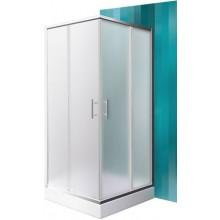 ROLTECHNIK ORLANDO NEO/800 sprchový kút 800x1900mm štvorcový, s posuvnými dverami, brillant/matt glass