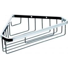 CONCEPT 100 drôtený košík 250x172x61mm, rohový, hlboký, chróm