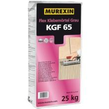 MUREXIN FLEX KGF 65 malta lepiaca 25kg, pružná, bezprašná, vodovzdorná, mrazuvzdorná, šedá