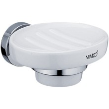NIMCO UNIX mydelnička 120x55x120mm, chróm/biela