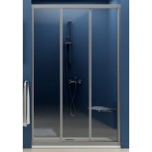RAVAK SUPERNOVA ASDP3 90 sprchové dvere 870x910x1880mm trojdielne, posuvné, satin / grape 00V70U02ZG