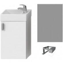 JIKA PETIT zostava nábytková 386x221x585mm, biela / biela 4.5351.4.175.300.1