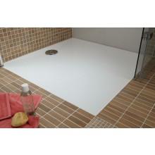 HÜPPE EASY STEP vanička 800x900mm, liaty mramor, biela