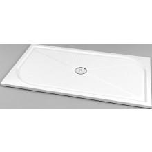 SANSWISS MARBLEMATE WMA sprchová vanička 800x1400mm, obdĺžniková, liaty mramor, biela