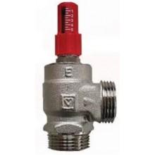 HERZ prepúšťací ventil DN15 rohový, závitový, mosadz