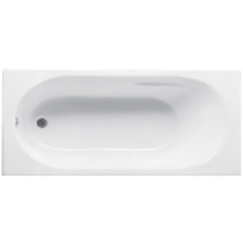 JIKA LYRA vaňa 1600x750x415mm akrylátová, obdĺžniková, vrátane podpier, biela 2.2883.9.000.000.1