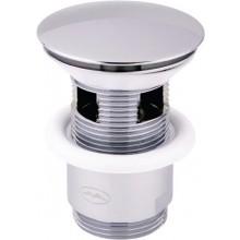 """EASY ZAMBEZI ZA S219 ventil click-clack 5/4"""" odpadový, umývadlový, chróm"""