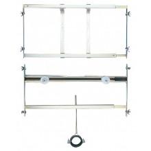 SANELA SLR02 montážny rám 420-625x250mm, predstenový, pre pisoár so splachovačom umiestneným nad pisoárom