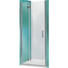 ROLTECHNIK TOWER LINE TZNP1/1000 sprchové dvere 1000x2000mm pravé, zlamovacie pre inštaláciu do niky, bezrámové, brillant/transparent