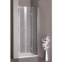 CONCEPT 300 sprchové dvere 1000x1900mm krídlové, ľavé, strieborná lesklá / číre AP, PT432103.092.322