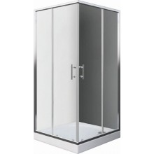 Zástěna sprchová čtverec Easy sklo