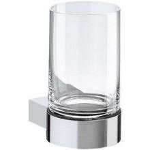 KEUCO PLAN držiak na pohárik 116mm, vrátane pohára, chróm/sklo