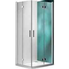 ROLTECHNIK TOWER LINE TZOP1/800 sprchové dvere 800x2000mm pravé, zlamovacie, bezrámové, brillant/transparent