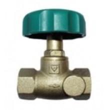 HERZ STRÖMAX-AW uzatvárací ventil DN15 priamy, s vnútorným závitom, bez vypúšťania