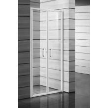 JIKA LYRA PLUS sprchové dvere pravoľavé kývne 900x1900mm, biela/stripy