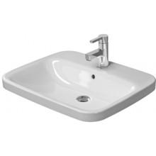 DURAVIT DURASTYLE umývadlo 615x495mm vstavané s prepadom biela 0374620000