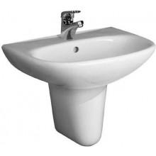 JIKA ZETA umývadlo 500x400mm klasické s otvorom, biela 8.1039.0.000.104.1