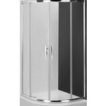 ROLTECHNIK PROXIMA LINE PXR2N/1000 sprchový kút 1000x2000mm štvrťkruhový, s dvojdielnymi posuvnými dverami, rámový, brillant/transparent