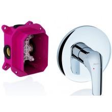 RAVAK ROSA 066.00 sprchová batéria 170x134x171mm podomietková, bez prepínačom pre R-box X070049
