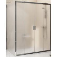 RAVAK BLIX BLDP4 130 sprchové dvere 1300x1900mm, štvordielne, posuvné, biela/grape