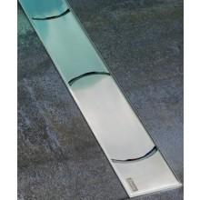 RAVAK CHROME 850 odtokový žľab 844x53x15mm nerez X01427