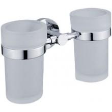 NIMCO UNIX držiak s pohárom dvojitý 195x112x88mm chróm UN 13058DW-26