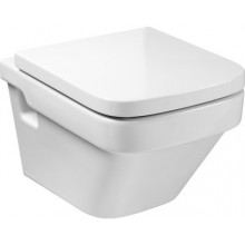 ROCA DAMA COMPACT závesné WC 360x500mm hlboké splachovanie, vodorovný odpad, biela 7346788000