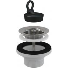 """CONCEPT umývadlová výpusť 5/4"""", Ø63mm s nerezovou mriežkou"""