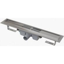 CONCEPT 100 PROFESSIONAL podlahový žľab 750mm s okrajom, pre plný rošt, nerez oceľ