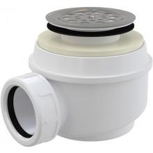 CONCEPT vaničkový sifón Ø52mm, s nerezovou mriežkou, chróm