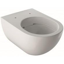 GEBERIT ACANTO závesné WC 350x510mm, s hlbokým splachovaním, Rimless, KeraTect, biela