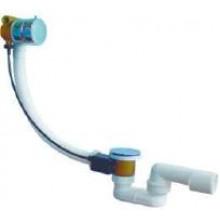 JIKA SPECIAL LINE automatická vaňová výpust s napúšťaním 550mm vrátane vaňového sifónu 40/50 mm biela/chróm
