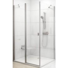 RAVAK CHROME CPS 90 pevná stena 880-900x1950mm jednodielne, biela/transparent