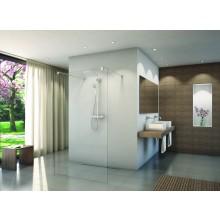 CONCEPT 200 CONFP pevná stena Walk-In 1400x2000mm, samostatne stojaca, aluchrom/číre sklo concept clean