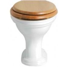 HERITAGE DORCHESTER WC misa 365x410mm, vodorovný odpad, biela