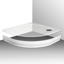 ROLTECHNIK TAHITI-M 1000 čelný panel 1000mm, štvrťkruh, krycí, akrylátový, biela