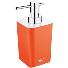 NIMCO ELI dávkovač tekutého mydla 75x90x167mm oranžová/chróm